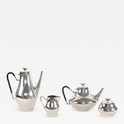 John Prip 1950s Denmark Silver Coffee and Tea Service by John Prip for Reed Barton