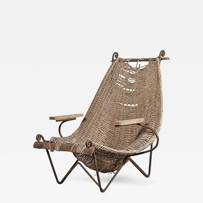 John Risley Original Vintage John Risley Lounge Chair