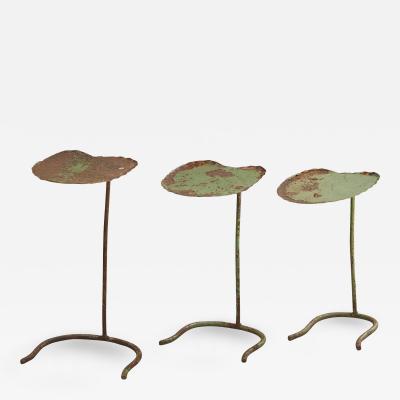 John Salterini Set Of Three Salterini Lily Pad Nesting Tables