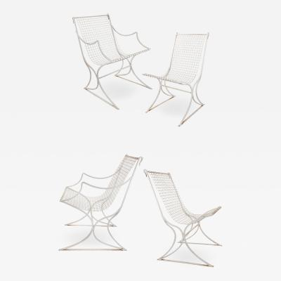 John Salterini Set of 4 Salterini Chairs