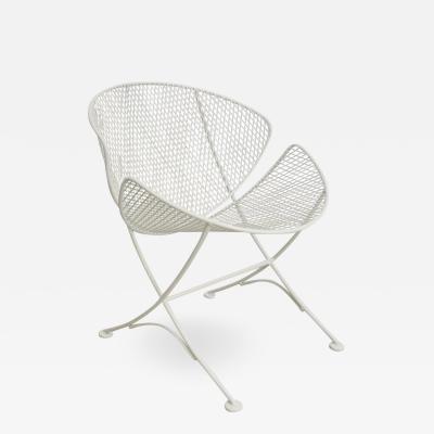 John Salterini White Patio Side Chair