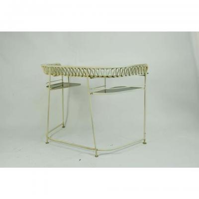 John Salterini Wrought Iron Dressing Table by John Salterini