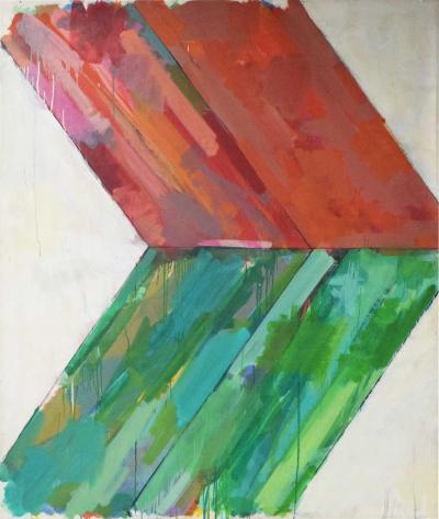 John Simpson Large Abstract by John Simpson dtd 1964