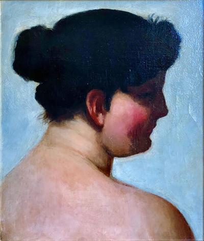 John Sloan Portrait Of Dolly Sloan by John Sloan