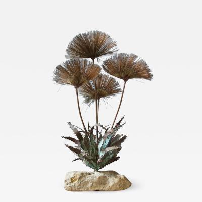 John Steck Desert Flowers Sculpture by John Steck 1960s
