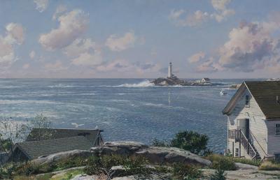 John Stobart Isles of Shoals White Island Light