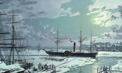 John Stobart RMS Britannia Freed from the Ice 1844
