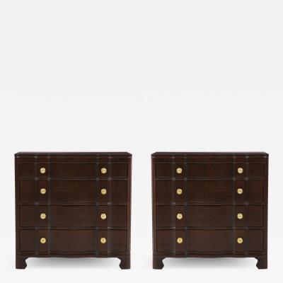 John Stuart John Stuart Mahogany Dressers