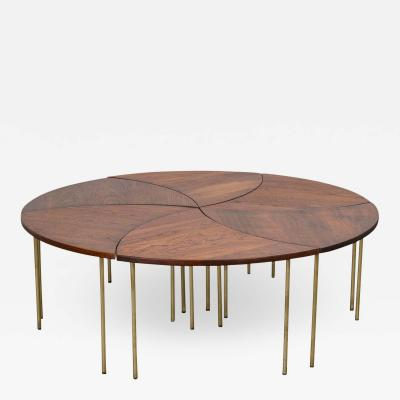 John Stuart Peter Hvidt Pinwheel Tables