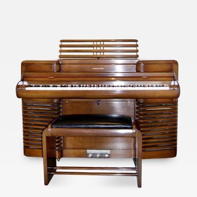 John Vassos Electrically Amplified RCA Story Clark Storytone Piano by John Vassos 1939