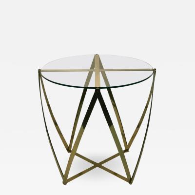 John Vesey John Vesey Modern Brass Table
