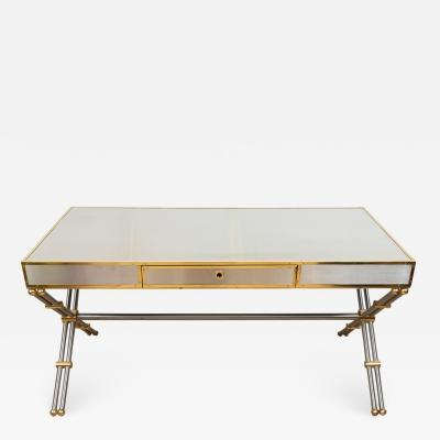 John Vesey Stainless Steel Brass Desk