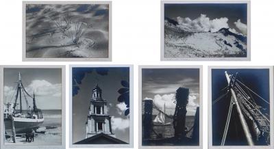 John W Gregory 1903 1992 six gelatin silver prints of views of Provincetown