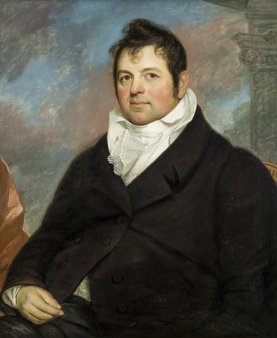 John Wesley Jarvis Portrait of Henry I Wyckoff 1768 1839