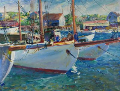 John Whorf In the Harbor