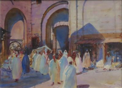 John Whorf Market Algeria