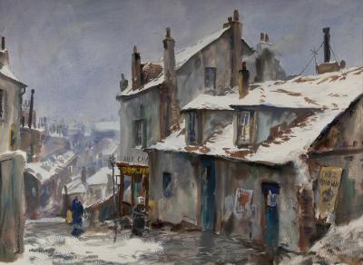 John Whorf Winter Montmartre