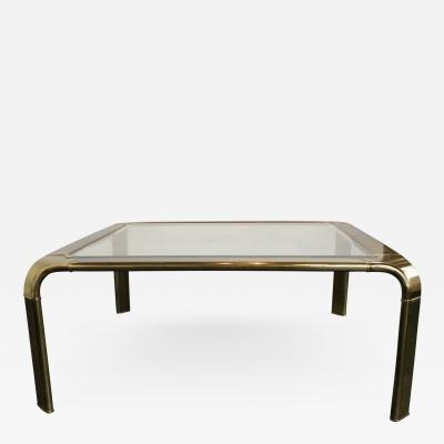 John Widdicomb Brass Waterfall Coffee Table by John Widdicomb