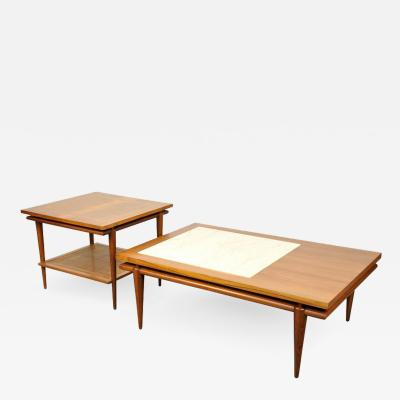 John Widdicomb John Widdicomb Mid Century Coffee and Side Table Set
