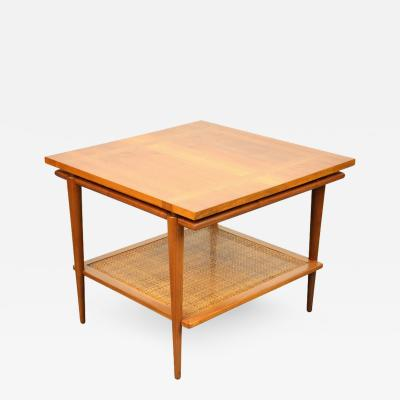 John Widdicomb John Widdicomb Two Tier Side Table with Floating Top