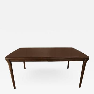 John Widdicomb Mahogany Extention Dining Table by John Widdicomb