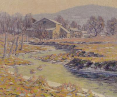 John William Bentley Country Home Woodstock