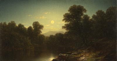 John William Casilear Moonlight