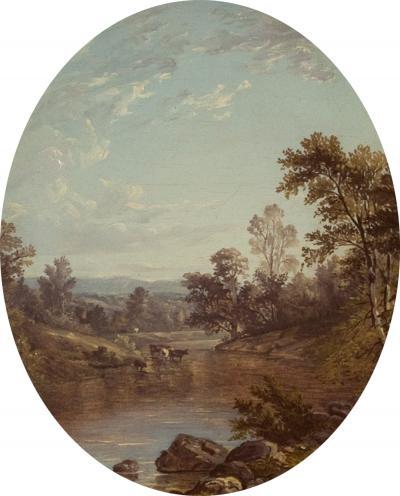 John William Casilear View to the Catskills 1850
