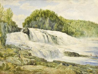 John William Hill Trenton Falls New York