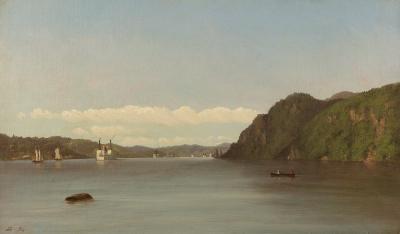 John Williamson Hudson River Landscape 1874