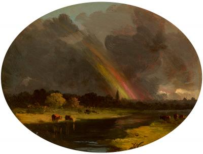 John Williamson Rainbow after the Storm