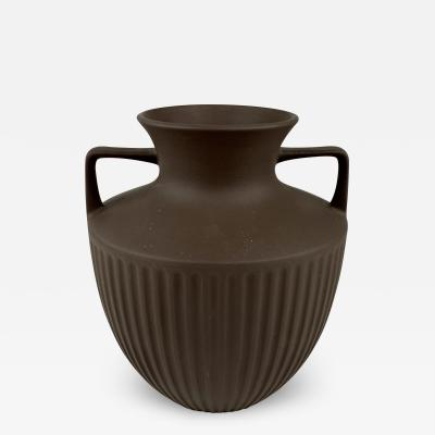 Johnathan Clappison Hornsea Pottery Brown Bisque Urn