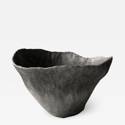 Jojo Corv i Volcano Ceramic Artwork Signed by Jojo Corv i Vessel
