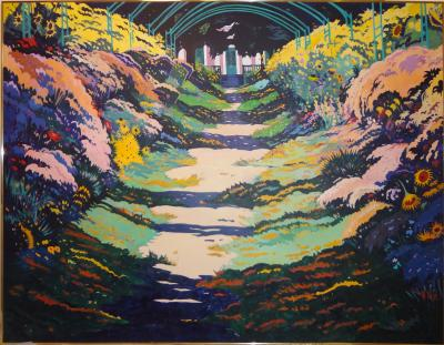 Jon Carsman Giverny Gardens Monets Garden