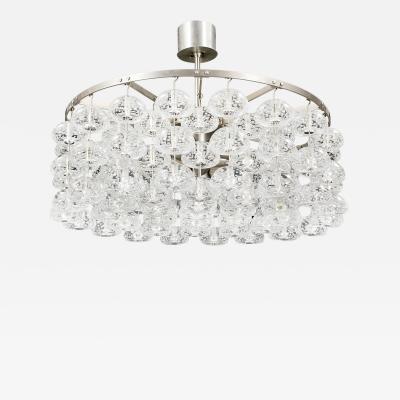 Jonas Hidle Scandinavian Modern Bhaco chandelier designed by Jonas Hidle Norway 1965