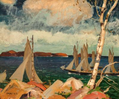 Jonas Lie Yachting on the Maine Coast