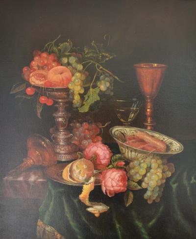 Jonathan Adams Still Life Abraham van Beyeren