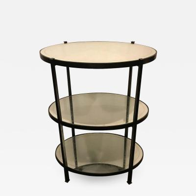 Jonathan Charles Three Tier Eqlomise Side Table Standing Bar