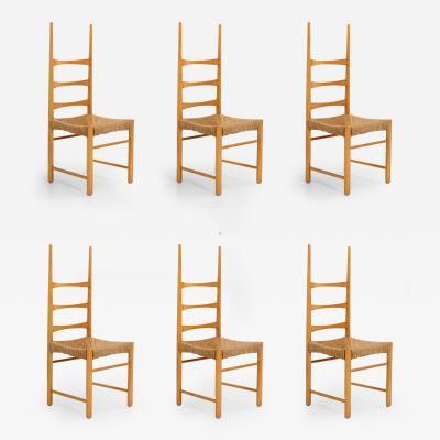 Jordi Vilanova Set of Six Billiard Chairs by Jordi Vilanova Spain