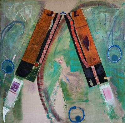 Jorg Madlener The Flight of the Eagle Santa Fe Painting 3