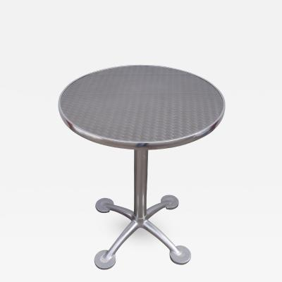 Jorge Pensi Aluminium and Stainless Steel Pensi Caf Table by Jorge Pensi for Knoll