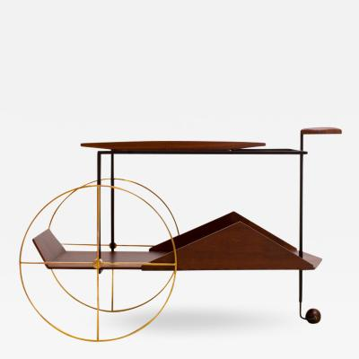 Jorge Zalszupin JZ Tea Trolley