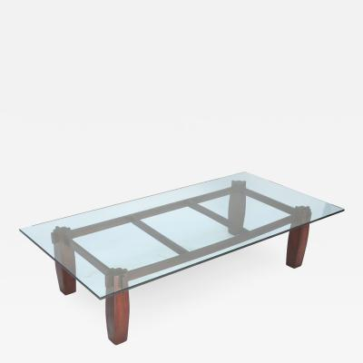 Jorge Zalszupin Long 1960s Brazilian Jacaranda Coffee Table by Jorge Zalszupin