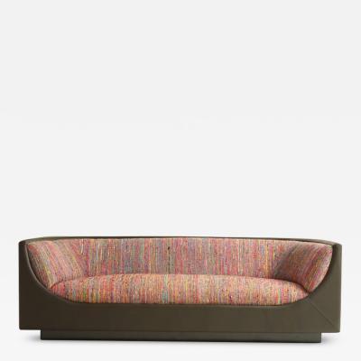 Jorge Zalszupin Mid Century Modern Cubo Sofa by Brazilian Designer Jorge Zalszupin 1960s