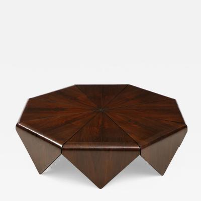 Jorge Zalszupin Mid Century Modern P talas Coffee Table by Jorge Zalszupin Brazil 1960s