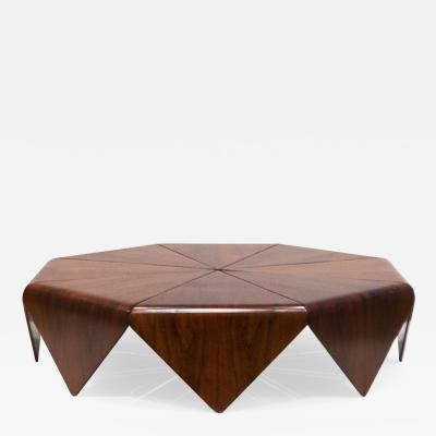 Jorge Zalszupin Petala Coffee Table