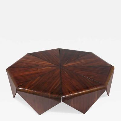 Jorge Zalszupin Petalas coffee table