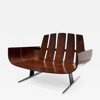 Jorge Zalszupin Presidencial Armchair manufactured for L Atelier