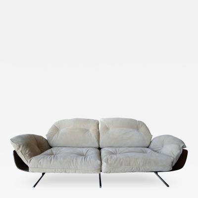 Jorge Zalszupin Presidential 1960s Brazilian Jacaranda Sofa by Jorge Zalszupin