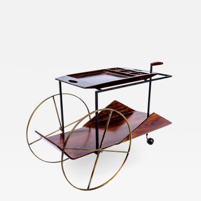 Jorge Zalszupin Tea Trolley